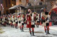 Giostra: i saggi in piazza di Musici e Sbandieratori