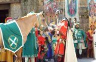 FOTO Bollatura dei cavalli e Investitura dei giostratori