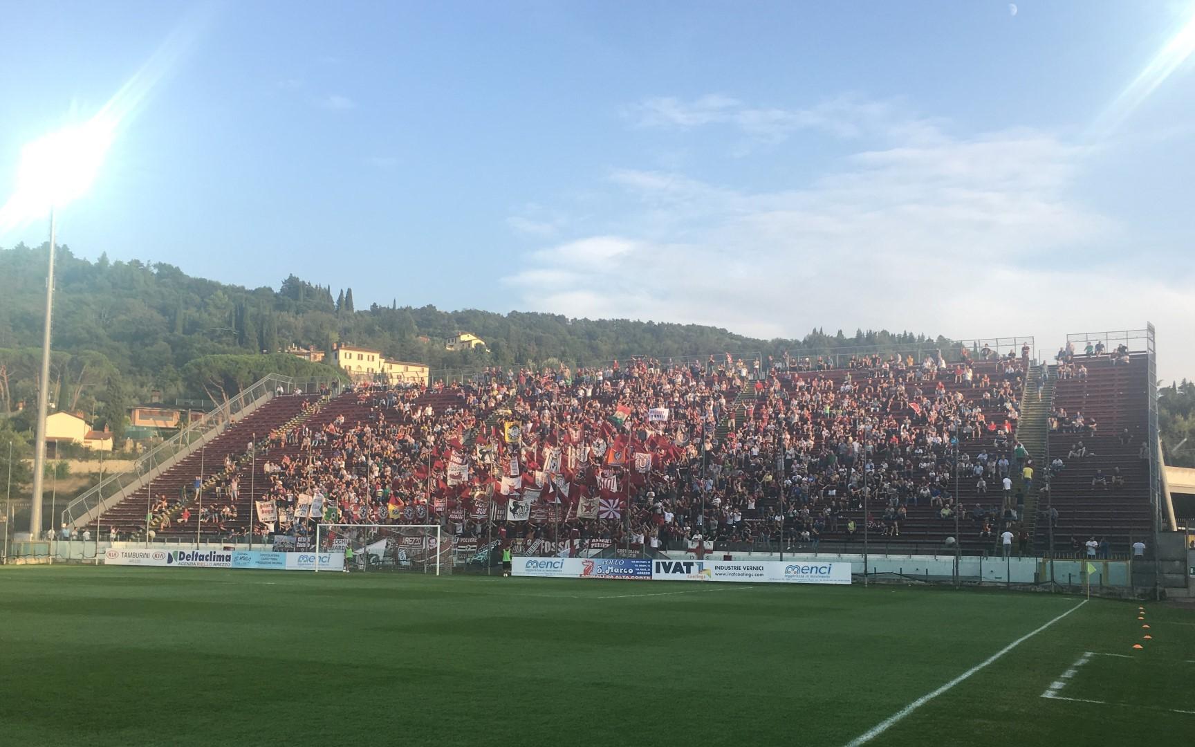 Arezzo 2 – Siena 1
