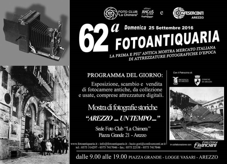 """Mostra Fotografica """"Arezzo… un tempo…"""""""