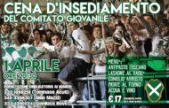 """Porta Sant'Andrea: sabato 1 aprile """"Cena d'insediamento"""" del Comitato Giovanile"""