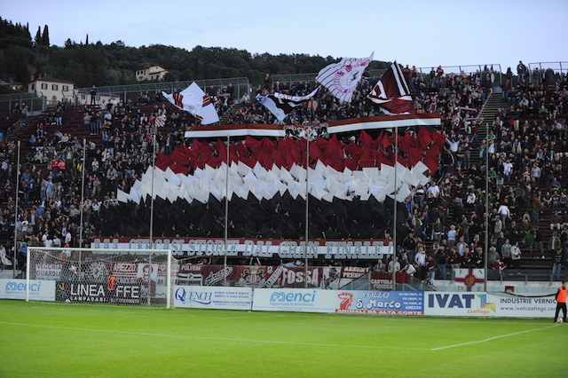 Play Off: Arezzo 1 – Lucchese 2