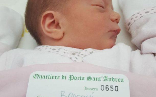 Fiocco Rosa a Sant'Andrea: è nata Alessia Braconi