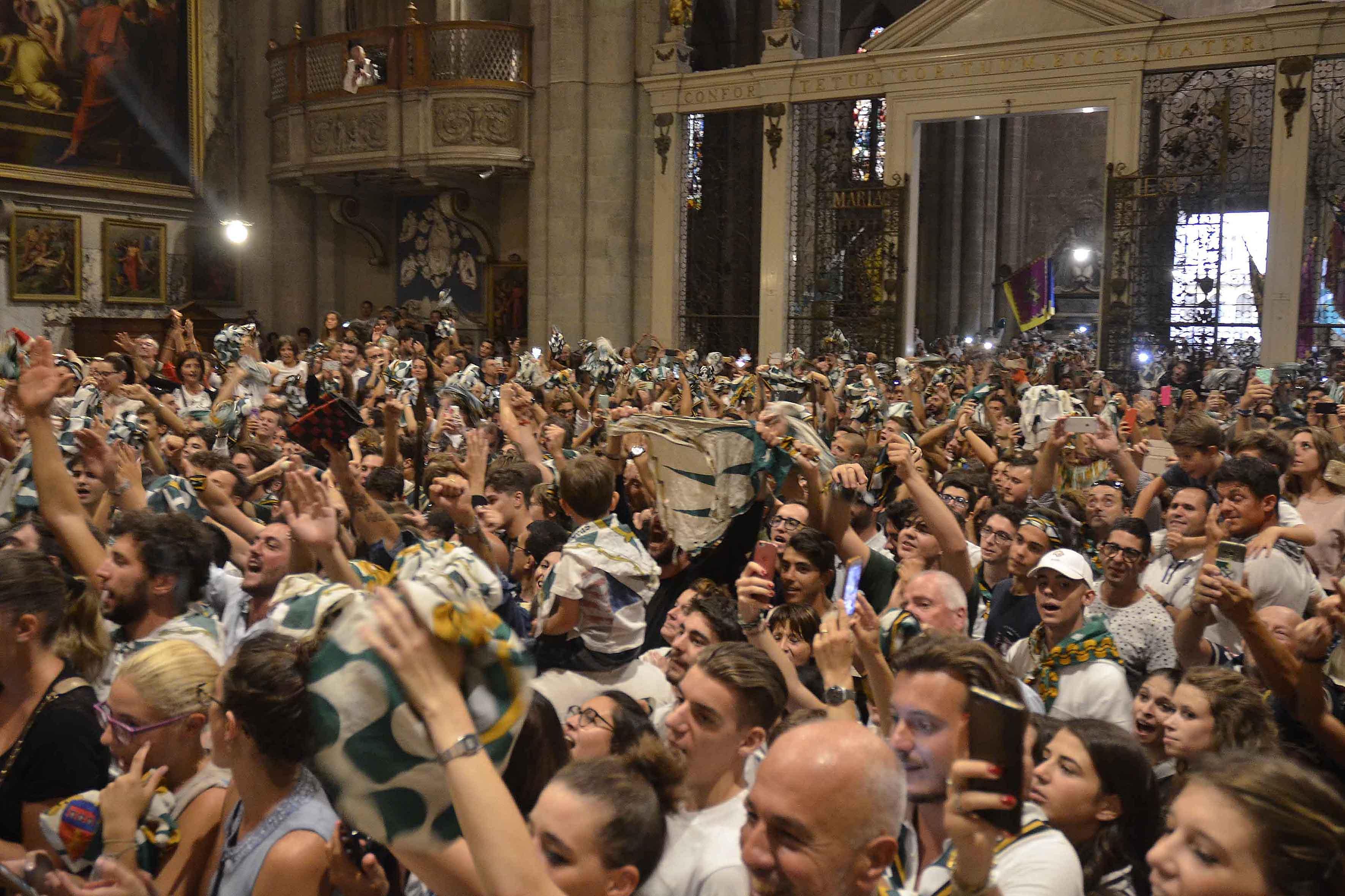 """Porta Sant'Andrea: iniziano i festeggiamenti, sabato 9 il """"Primo Cenino""""."""