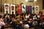 La cerimonia di premiazione dei giostratori nella Sala del Consiglio Comunale