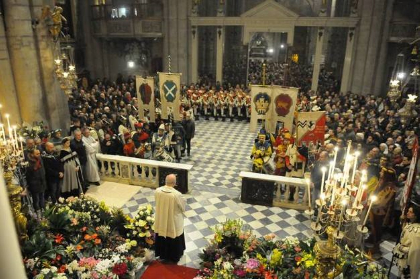 la Giostra rende omaggio alla Madonna del Conforto