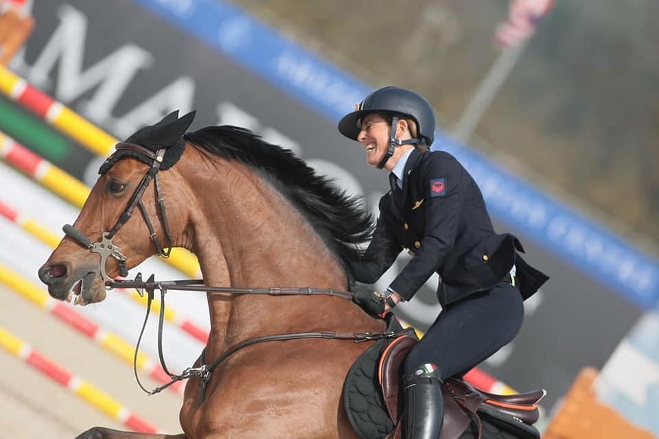 Giulia Martinengo è Campionessa Italiana per la seconda volta di salto ostacoli