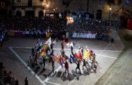Sbandieratori di Arezzo al Forum Economico Internazionale di Yalta