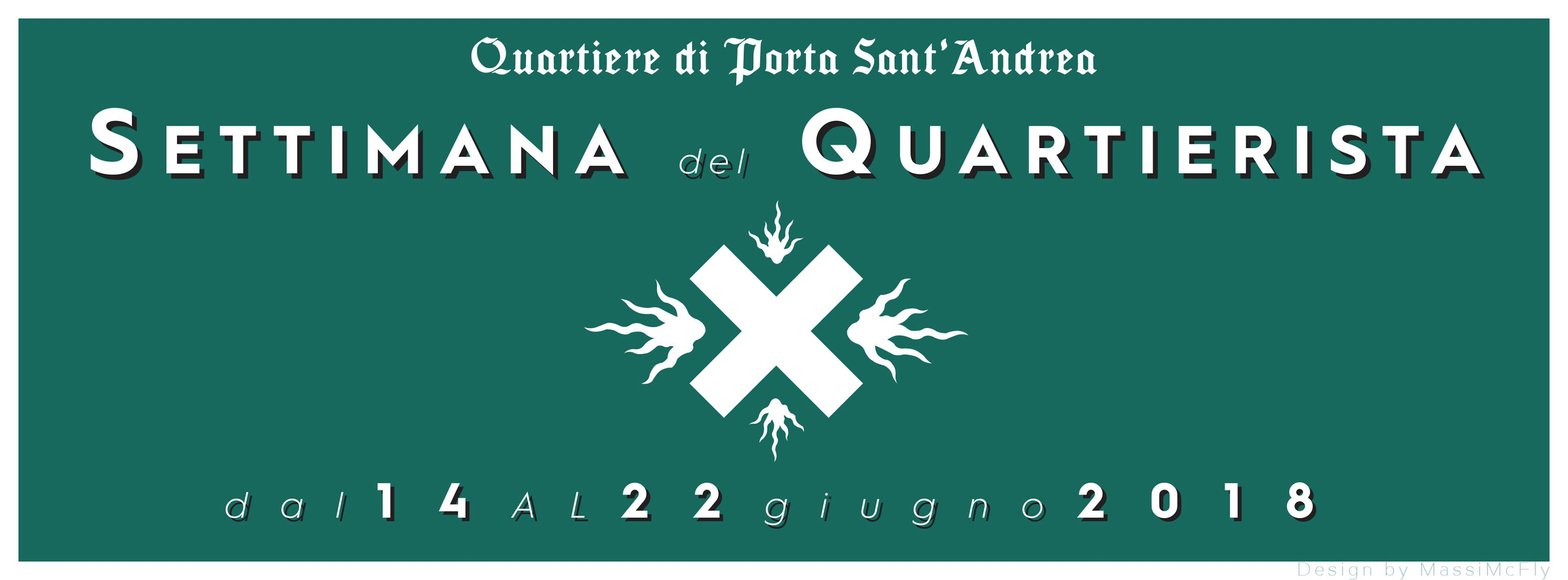 """Sant'Andrea: la """"Settimana del Quartierista"""""""