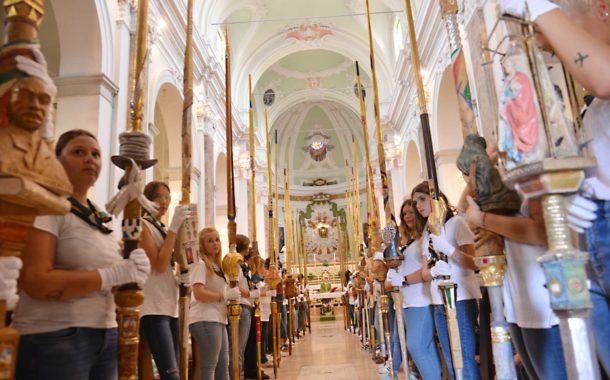 Porta Sant'Andrea celebra Sant'Andrea Guasconi