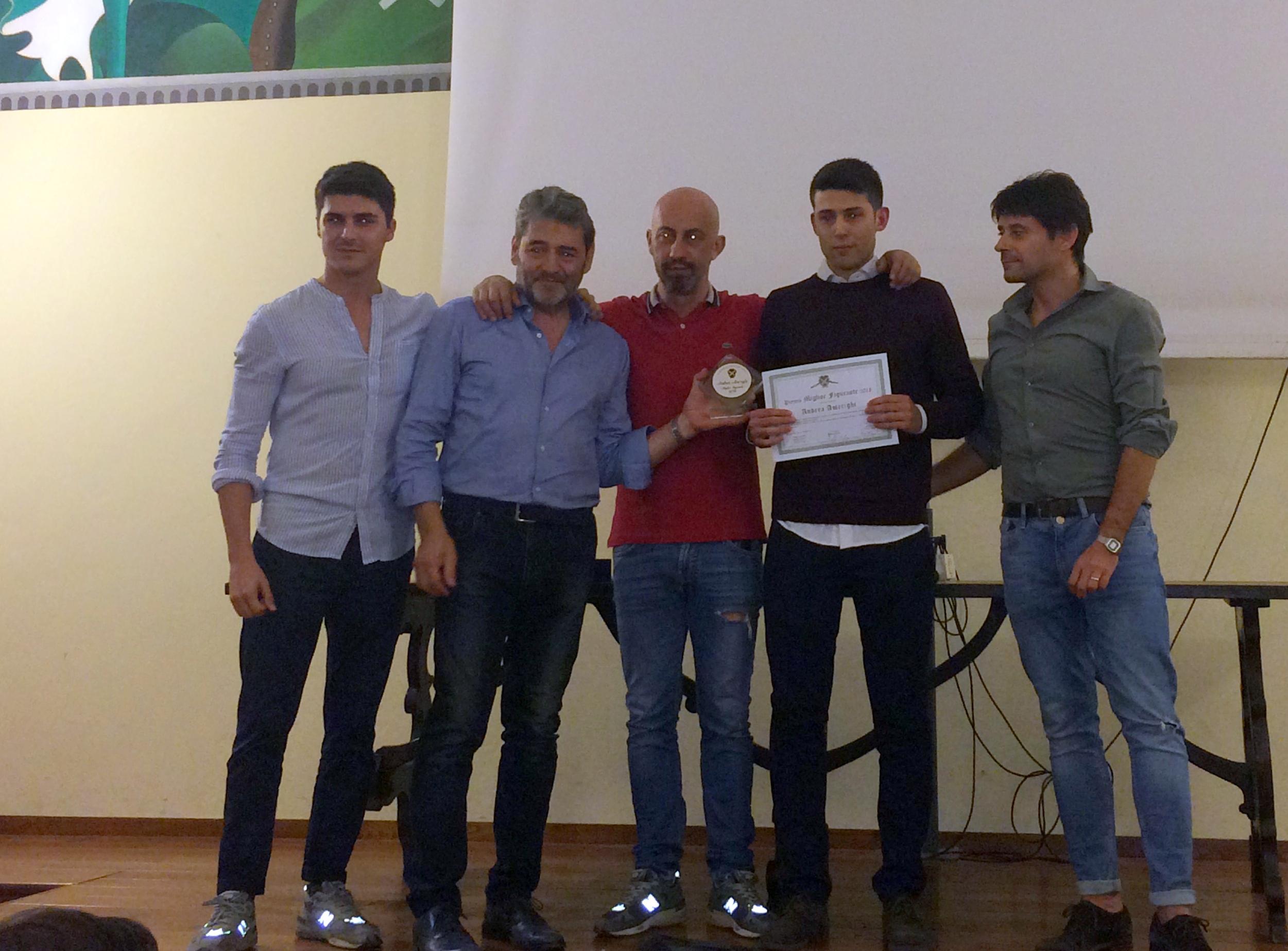 Porta Sant'Andrea: premiato il Miglior Figurante 2018