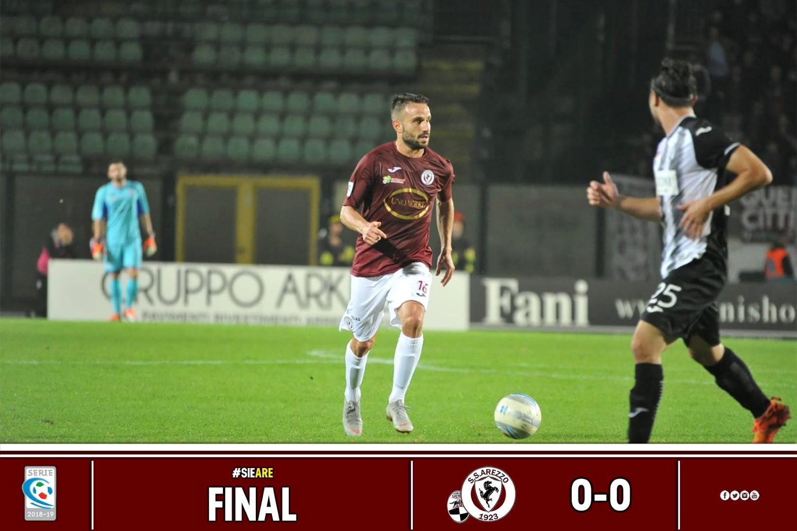 Calcio: Siena 0 – Arezzo 0