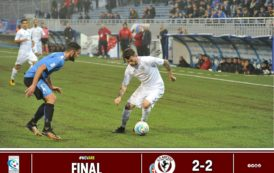 Calcio: Novara 2 – Arezzo 2