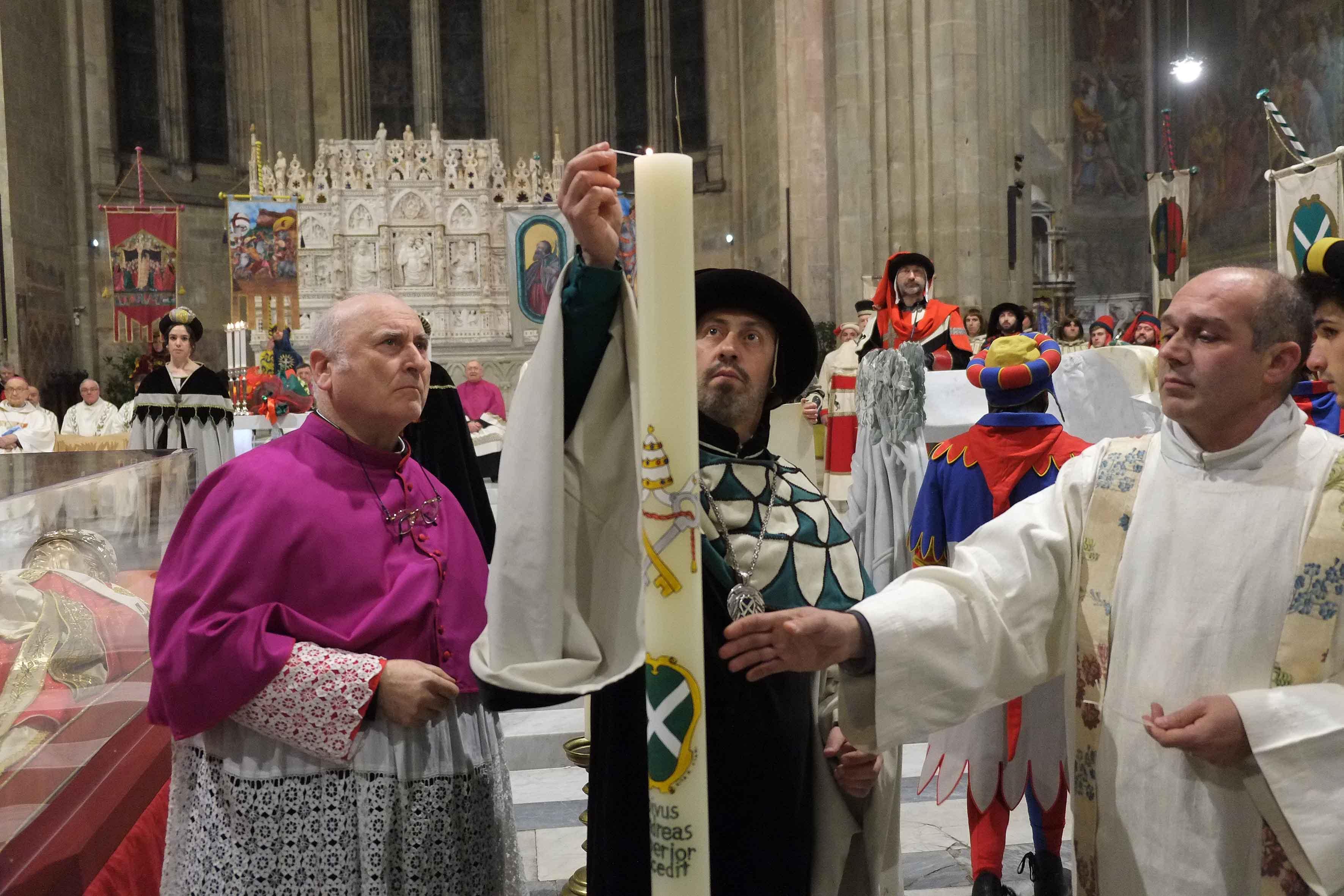 L'offerta dei Ceri al beato Gregorio X (fotogallery)