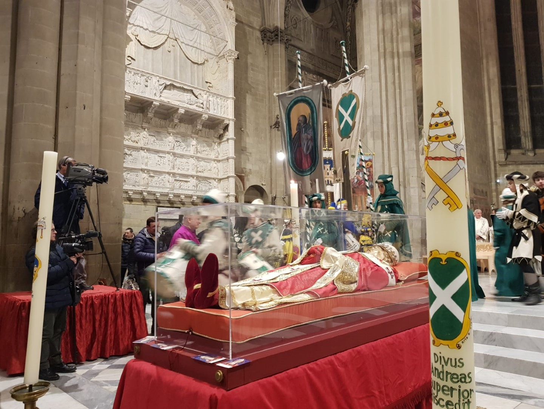 Offerta dei ceri al Beato Gregorio X