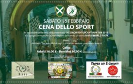 """Presentazione """"Tuscany Run Ten 2019"""" e Cena dello Sport"""