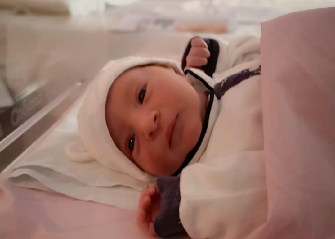 Fiocco rosa a Sant'Andrea: è nata Matilde Capaccioli