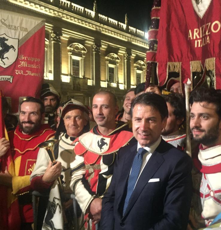 AREZZO E LA GIOSTRA DEL SARACINO PROTAGONISTI A ROMA
