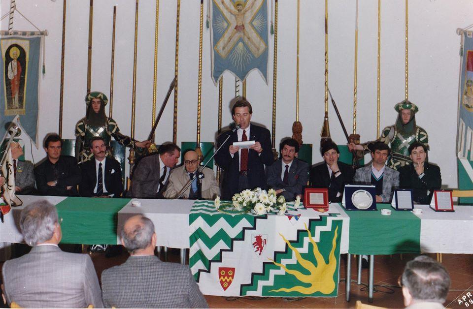 Inaugurazione sede 18 marzo 1989