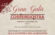 """Gran Galà Corrergiostra: gli """"oscar"""" per i protagonisti del Saracino"""