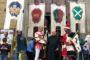 Giostra: l'omaggio a don Vezio, parroco della Badia (foto)