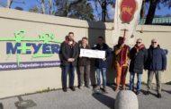 Porta del Foro: donazione alla Fondazione Meyer