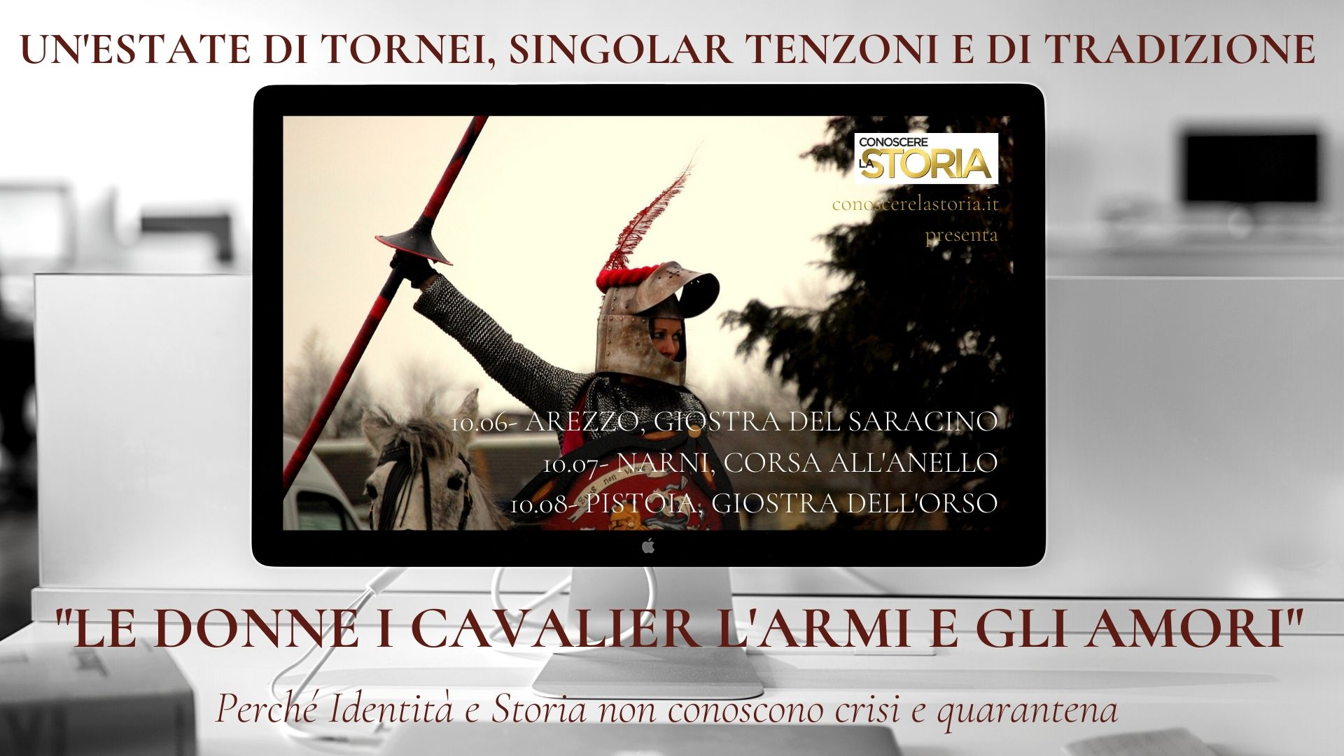 La Giostra apre la rubrica dedicata ai tornei medievali sul sito conoscerelastoria.it
