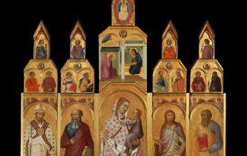 Torna in Pieve il Polittico del Lorenzetti