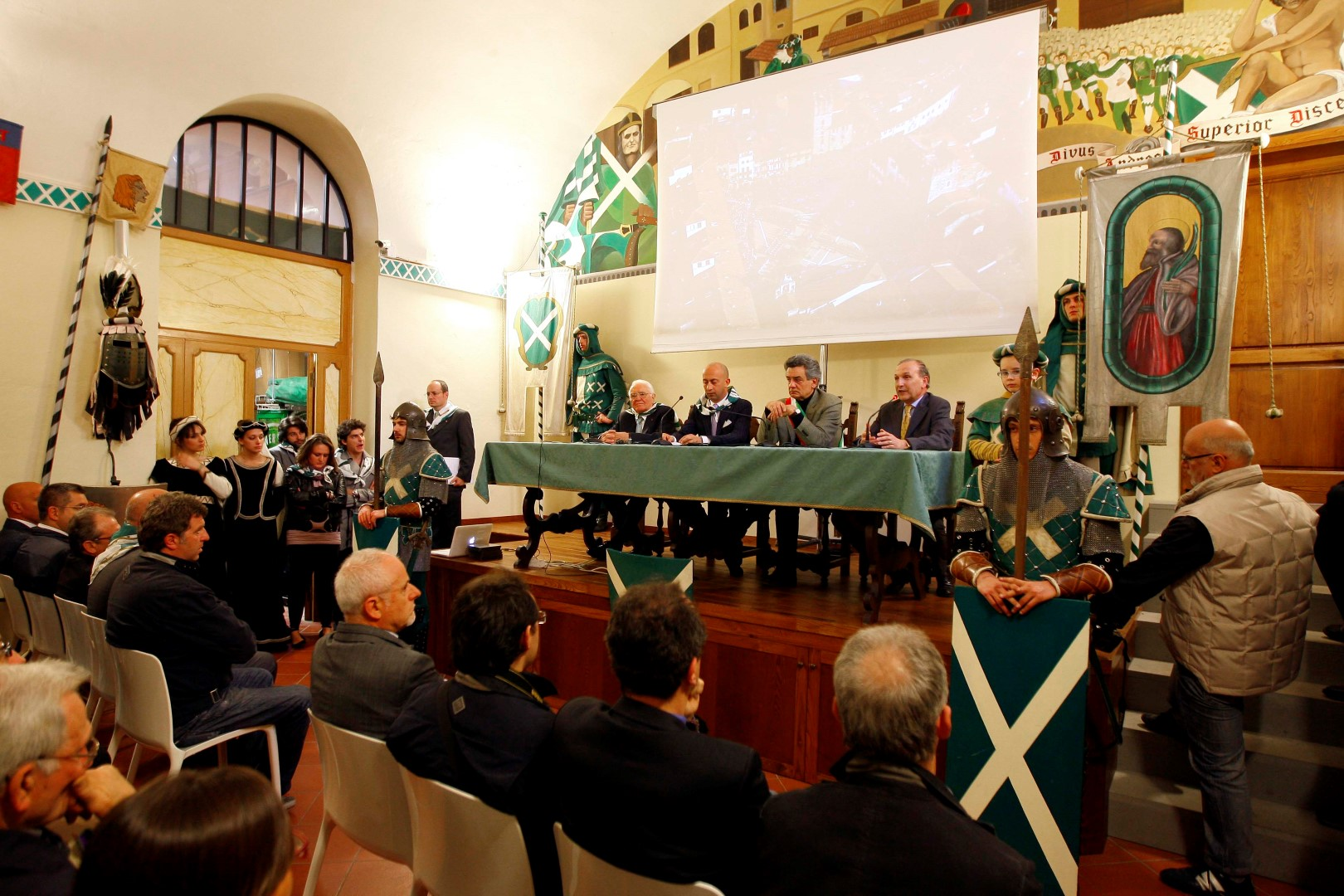 FOTOGALLERY: 16 aprile 2011 l'inaugurazione del Museo di Porta Sant'Andrea